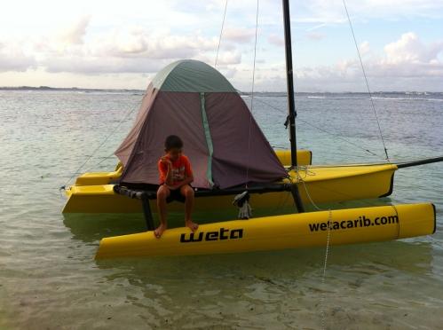 Weta-Trimarans-Caribbean-Camping