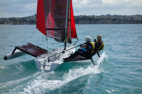 Weta-Trimarans-Destination-Torbay-Arkles-Bay-New-Zealand-10