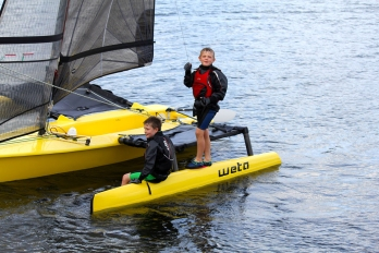 Weta-Trimarans-Kids-on-the-Weta