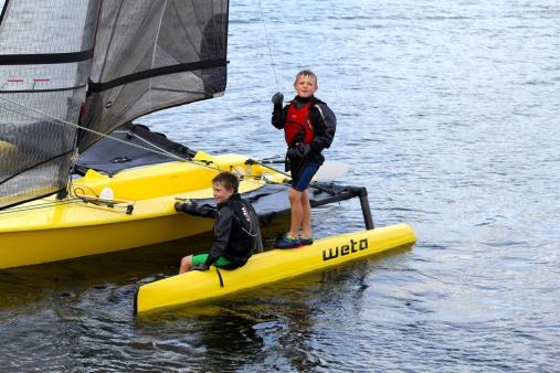Weta-Trimarans-Kids-on-the-Weta
